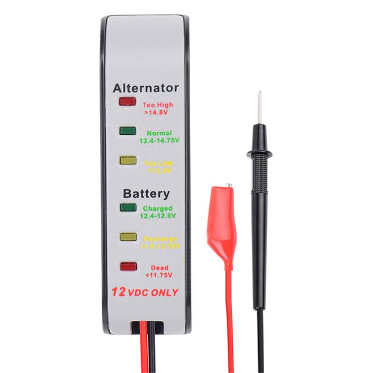 Auto 12 Volt Battery Voltage Tester Charging System Analyzer Monitor