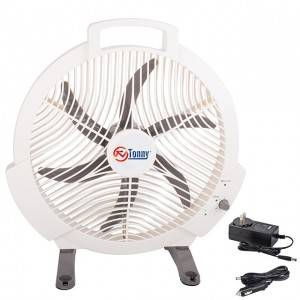 "Hot-selling Mini Portable Fan - 12"" Box Fan, 3 Settings Silent Cooling Technology, Carry Handle, 12 inch Air Circulator on Desk / Desktop / Table / Car, Household Desk Portable 12V Fan, Rechargeab..."