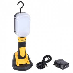 Best service OEM rechargeable SMD handheld magnetic work light, portable led car work light