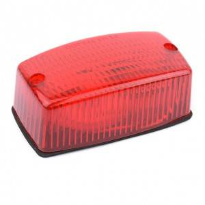 Rectangular Reflector clearance marker light
