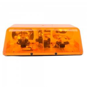 High Quality Magnetic Trailer Light Kit - Amber/Yellow Roof Top Emergency Strobe Lights Mini Bar for Cars Trucks Snow Plow Vehicles Revolving Warning Caution Lights  – Tonny