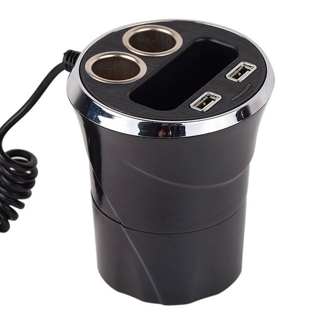 12v /24v Cup-Shaped Power Socket With Cigarette Plug