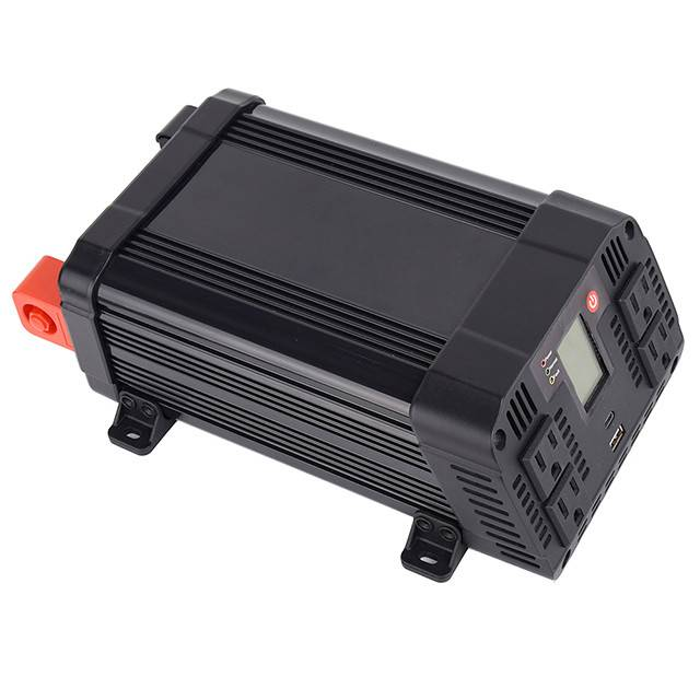 1200w Dc To Ac Power Inverter With Lcd Display