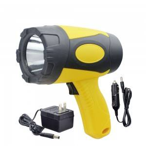 Super Bright Outdoor Portable 5W LED Emergency Handheld Spotlight