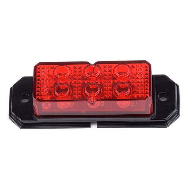 Factory making Truck Trailer Forklift Stop Turn Tail Light - Smart design amber or red LED Clearance/Marker Ligh – Tonny detail pictures
