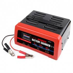 6V 12V Smart Rapid Battery Charger Fully Automatic Fast Charger with Engine Starter