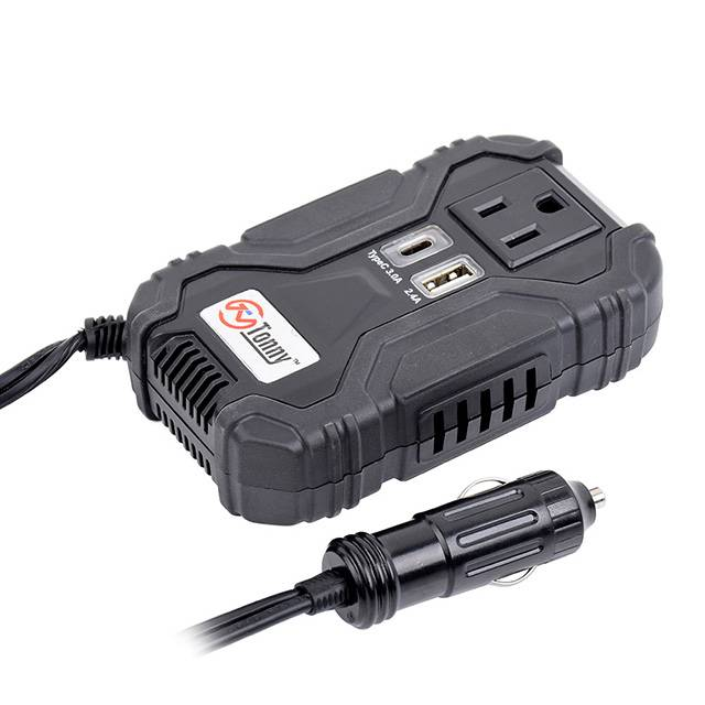 120w Dc To Ac Power Inverter With Type C Output Featured Image