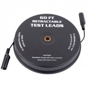 Chinese Professional Battery Discharge Capacity Tester - Magnetic Retractable Test Leads – Tonny