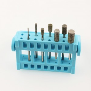 best useful and safety diamond burs diamond nail drill bits for nail beauty