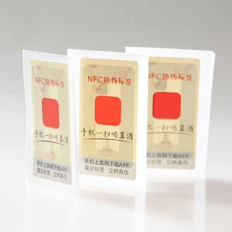 Personlized Products Rfid Asset Tags - RFID Anti-counterfeiting labels – Toptag