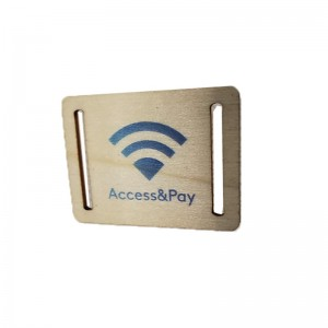 RFID wooden card