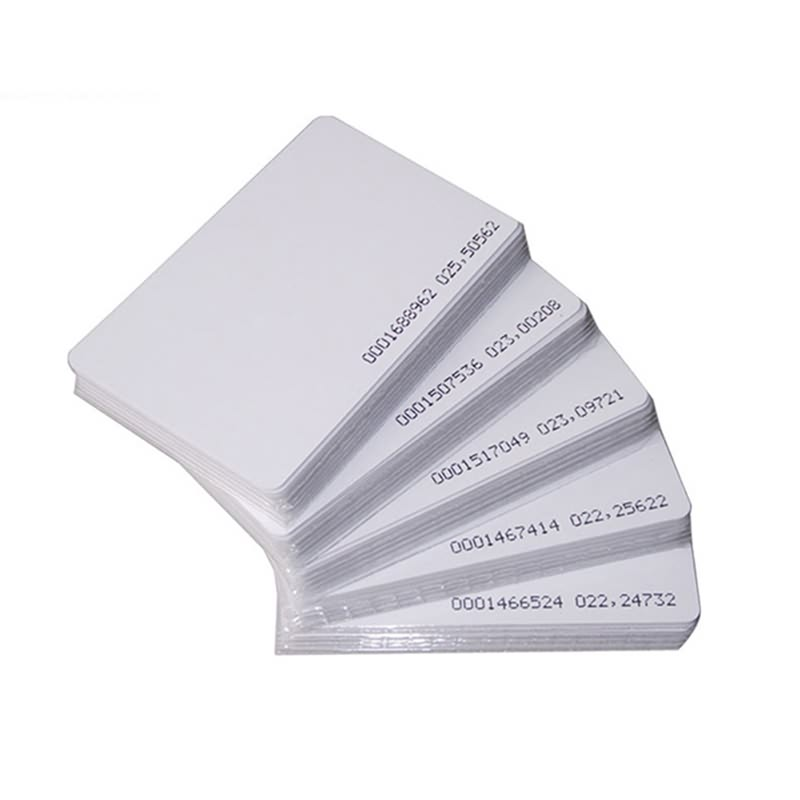 Chinese wholesale Rfid Card Maker - RFID Blank Card – Toptag
