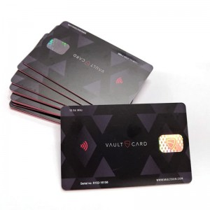 Hologram  rfid blocking card
