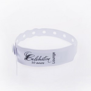 Disposable paper Wristband-PVC1007