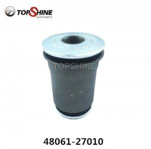 Car Auto Parts Rubber Bushing Suspension Lower Arm Bushing for Toyota 48061-27010 48061-27011