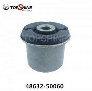 Car Spare Parts Rubber Bushing Lower Arms Bushing for Toyota 48632-50060