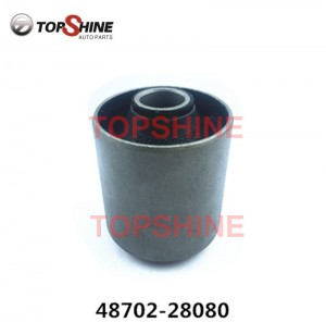 48702-28080 48720-35020 48702-26060 Car Suspension Parts Lower Arms Rubber Bushings for Toyota