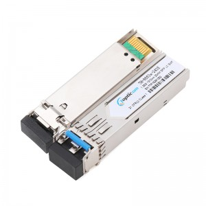 Wholesale Price China Bidi Sfp - 1.25Gb/s SFP 1310nm 20km DDM Duplex LC optical transceiver  – Topticom