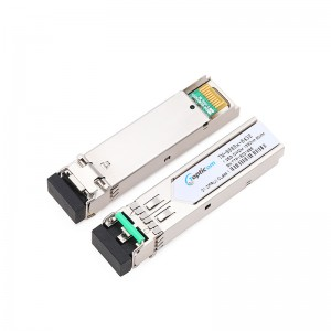 New Arrival China Wdm Transceiver - 1.25Gb/s SFP CWDM 80km DDM Duplex LC optical transceiver  – Topticom