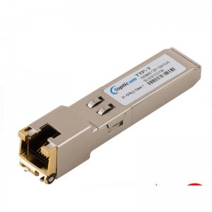 Chinese Professional Rj45 Gbic - 10GBASE-T SFP+ Copper RJ-45 30m Transceiver Module  – Topticom