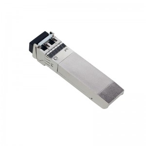 10Gb/s SFP+ 1490nm/1550nm 80kmm DDM EML LC optical transceiver