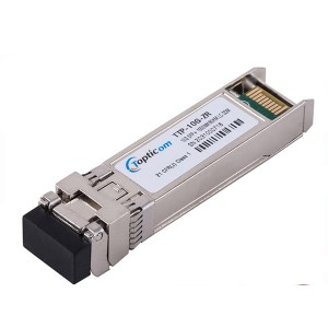 Professional China 10g Transceiver - 10Gb/s SFP+ZR 1550nm 80km DDM EML LC Duplex optical transceiver  – Topticom