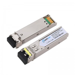155Mbps SFP 1550nm 120km DDM Duplex LC optical transceiver