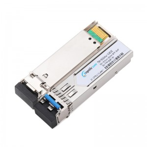 2020 wholesale price Cwdm - 3Gb/s SFP+ 1310nm 5km DDM Duplex LC optical transceiver  – Topticom