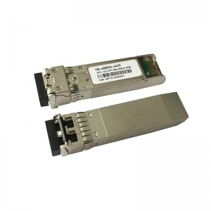 6Gb/s SFP+ 850nm 300m DDM VCSEL Duplex LC optical transceiver