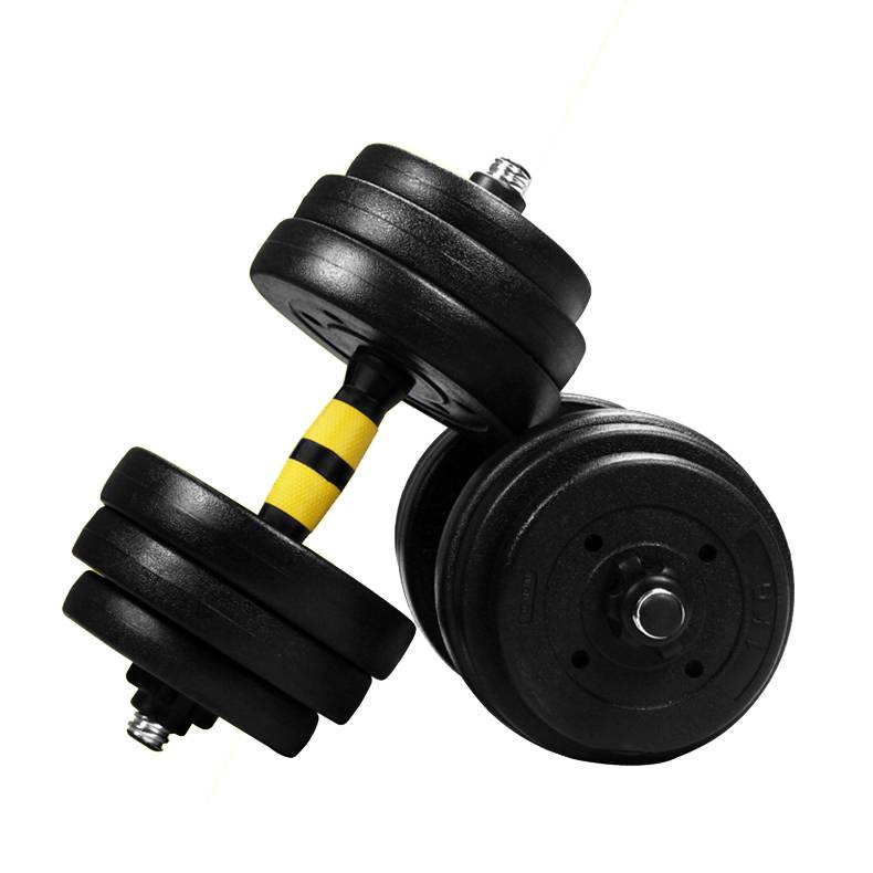 2021 wholesale price  Adjustable Dumbbell Set - plastic cement dumbbell set 10kg 20kg 30kg 40kg – Toptons