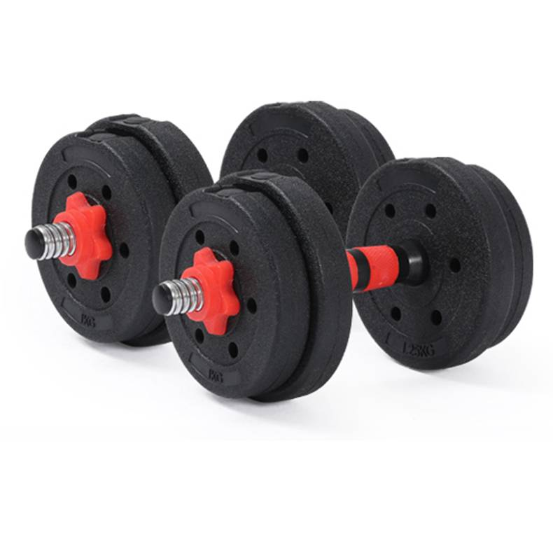 Factory price custom adjustable dumbbells sets for gym fitness