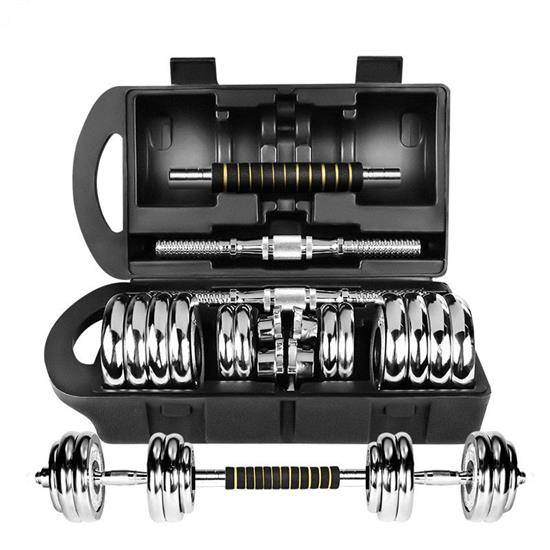 Professional Manufacture Cheap Electroplating Gym Exercise Equipment Adjustable Dumbbell