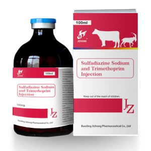 Sulfadiazine Sodium and Trimethoprim Injection 40%+8%