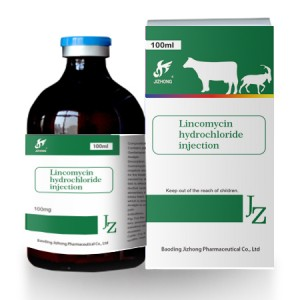 Lincomycin hydrochloride injection 10%