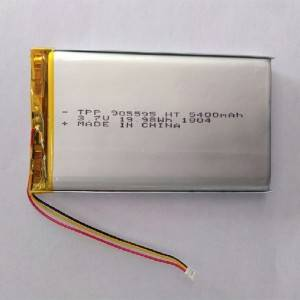 Factory Cheap Hot 6v Lithium Ion Battery - High capacity 3.7V 5400mah  li polymer battery. – True Power