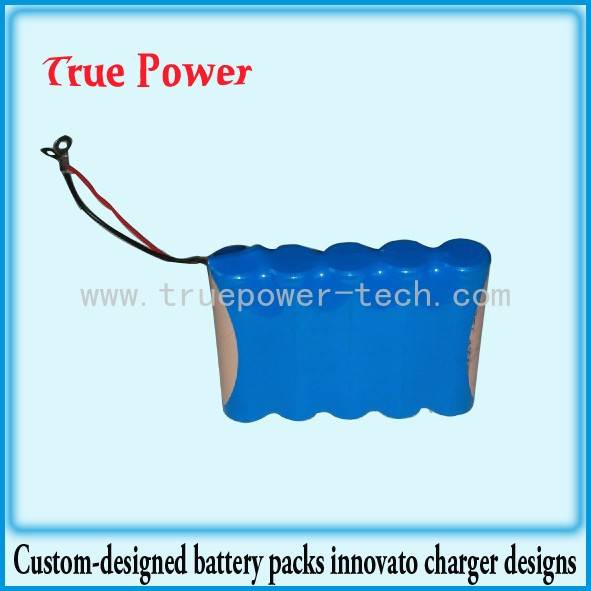 3.7V 10400mAh 18650 Li-ion Battery Packs
