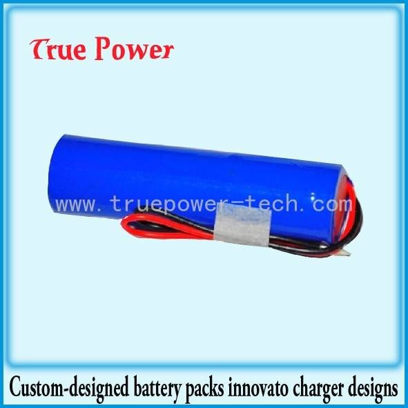 3.7V 2400mAh lithium Cylindrical Battery Pack