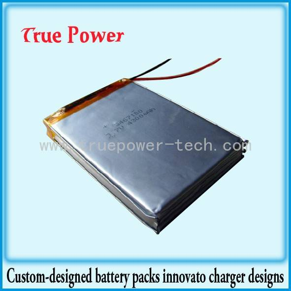 3.7V Rechargeable Lithium Polymer Battery Pack 1150mAh