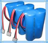 Li-ion Battery Packs 7.4V 2600mAh 18650