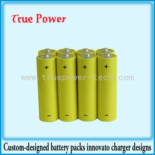 New Arrival China 3.7 Rechargeable Battery - Ni-CD AA600mAh 1.2V rechargeable battery – True Power