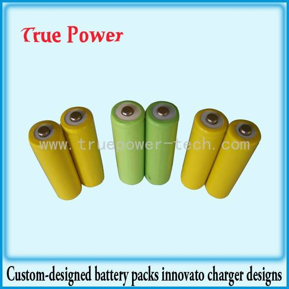 Quality Inspection for Lithium Ion Battery Pack For Solar - Ni-CD AA300mAh 1.2V rechargeable battery – True Power