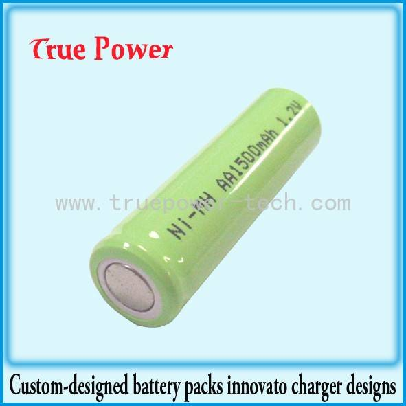 OEM/ODM China 48v 300ah Lithium Ion Battery - Ni-MH AA1500mAh Battery – True Power