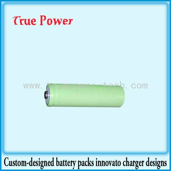 Cheap PriceList for Single Cell Lithium Ion Battery - Ni-MH Rechargeable Battery 1/2A1100mAh – True Power