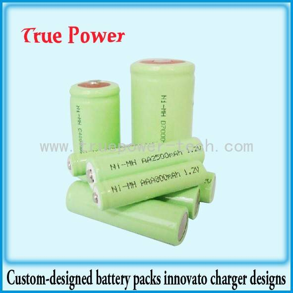 High Quality for 36v Lithium Ion Battery - NI-MH AA2500MAH – True Power
