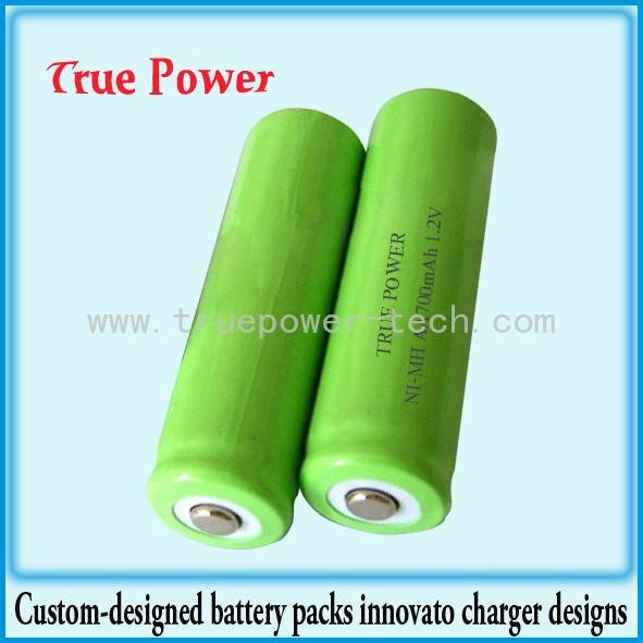 Professional China 72 Volt Lithium Ion Battery - Ni-MH AA700mAh 1.2V – True Power