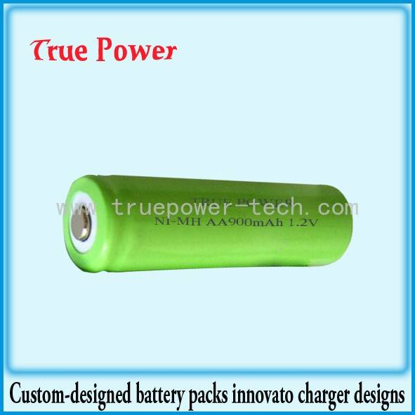Top Suppliers Us2000 Plus Lithium Battery - NI-MH AA900MAH 1.2V, R6 – True Power