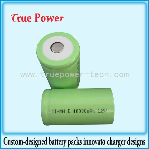Trending Products Li Ion Battery Cell - Ni-MH D10000MAH 1.2V – True Power