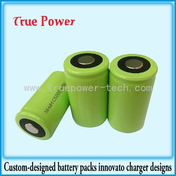 Competitive Price for Lithium Ion Battery Packs For Electric Vehicles - NI-MH C5000MAH 1.2V – True Power