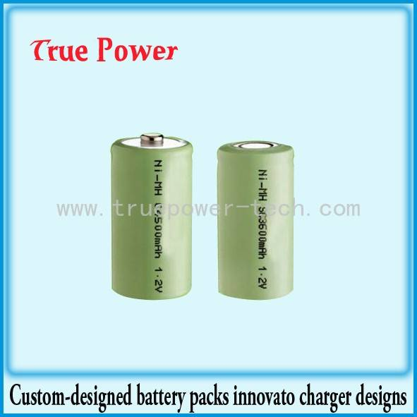 Good quality 12v 500ah Lithium Ion Battery - NI-MH C3600MAH 1.2V – True Power