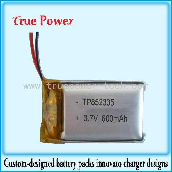 Good Quality 7.8 Ah Lithium Ion Battery - Li-Po Battery for MP3 Player – True Power